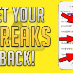 How to Get Snap Streak Back