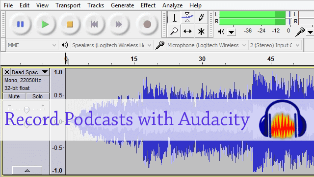 How to Record A Podcast Using Audacity