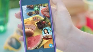 allow camera access to Snapchat on iPhone