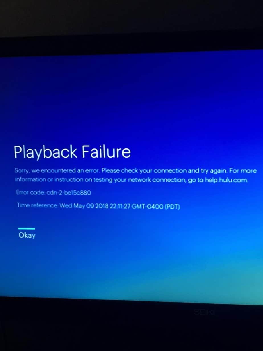 How to fix Hulu error code P-DEV313