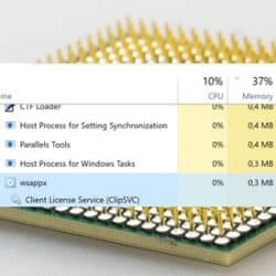 How to fix Wsappx High CPU