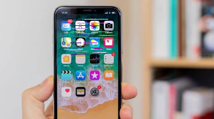 How to fix iPhone Glitching Screen