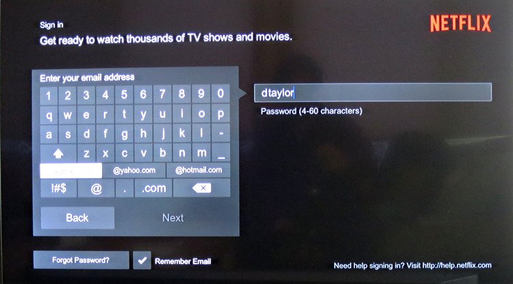 How to login into Netflix on Xfinity X1