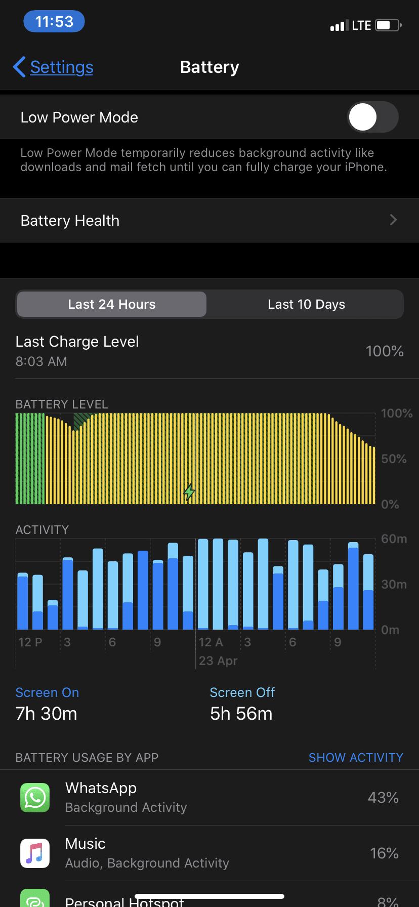 Calibrate iPhone Batteries