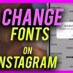 Instagram Font Changer - Use any font you like