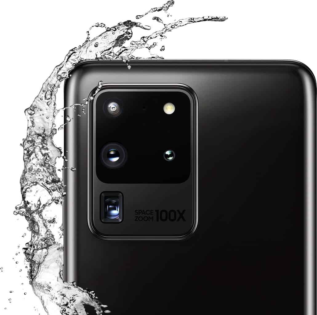 Is Samsung Galaxy S20 Waterproof