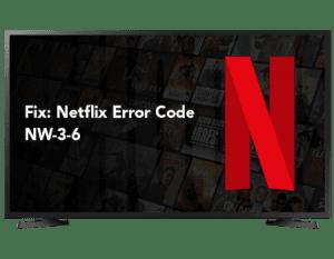 Netflix Code Nw-3-6