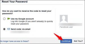 Password Reset Options for Online Apps