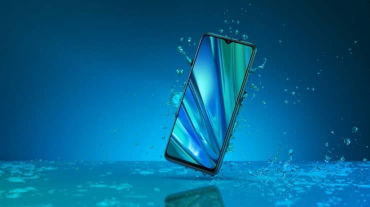 Realme 3 Pro Waterproof device