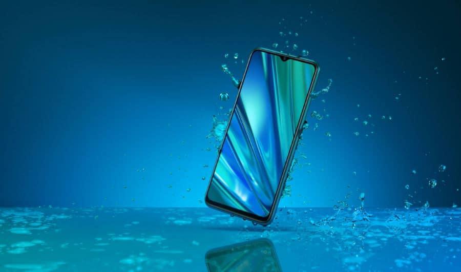 Realme 3 Pro Waterproof device