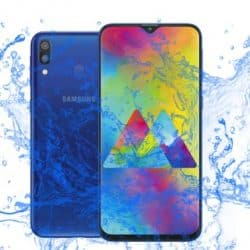 Is the Samsung Galaxy M20 Waterproof