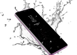 Is the Samsung Galaxy S9 Plus a waterproof device