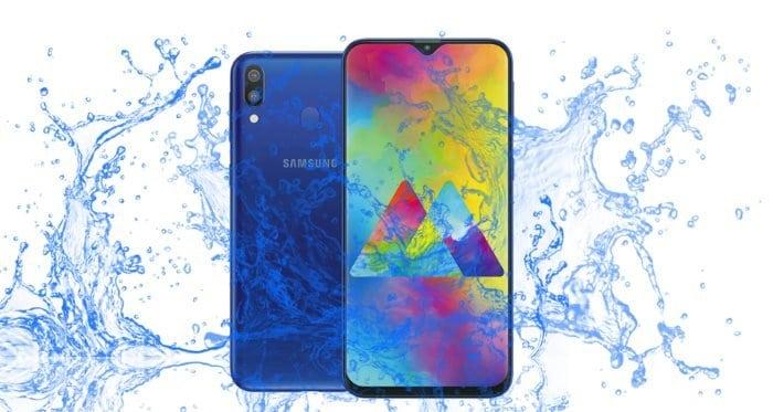 Is the Samsung Galaxy M20 Waterproof