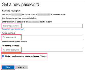 Set a Password Expiration Date in Windows