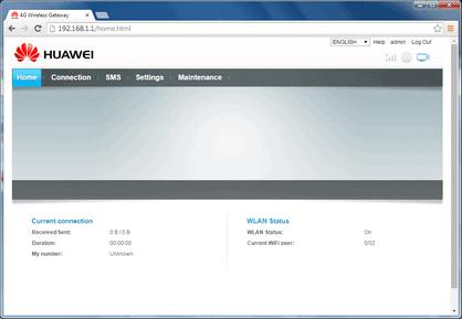 Huawei Hotspot Password