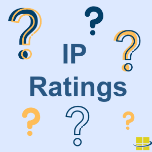 Water and dust IP ratings