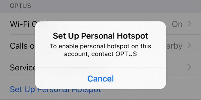 Fix iPhone Hotspot Issues