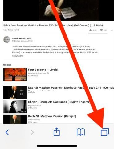How to Play YouTube in The Background on iPhone