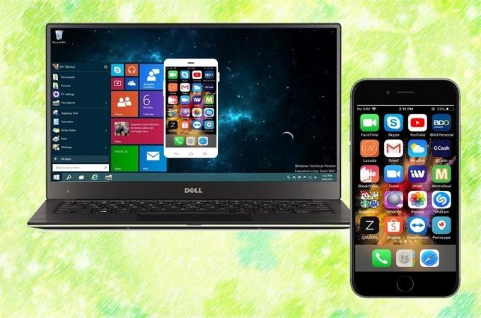 Screen Mirror iPhone To Windows PC