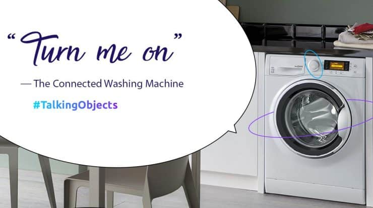 Washing machine tweets you when your laundry is done