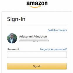 Error Code Amazon 2063