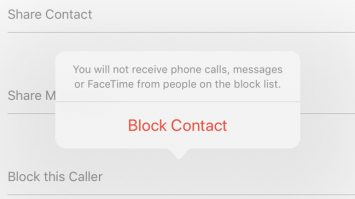 How to block contact on iPhone