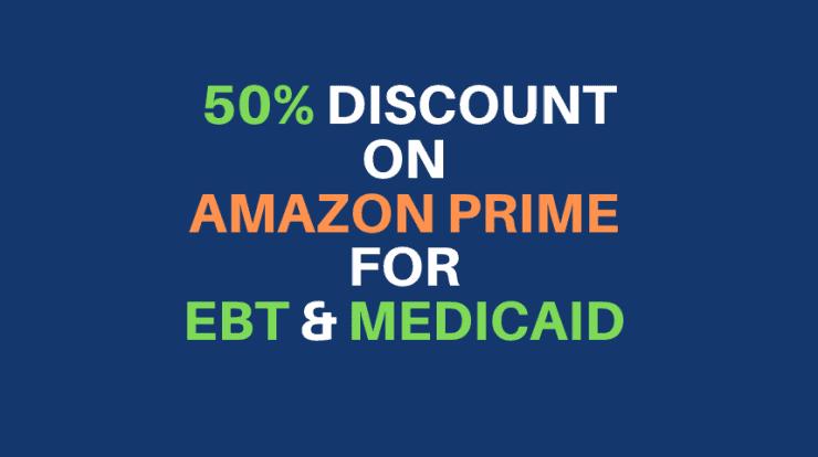 Get an EBT or Medicaid discount