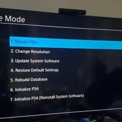 How to Load Safe Mode in PS4