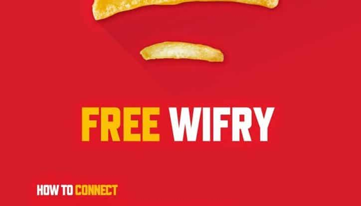McDonalds WiFi Login