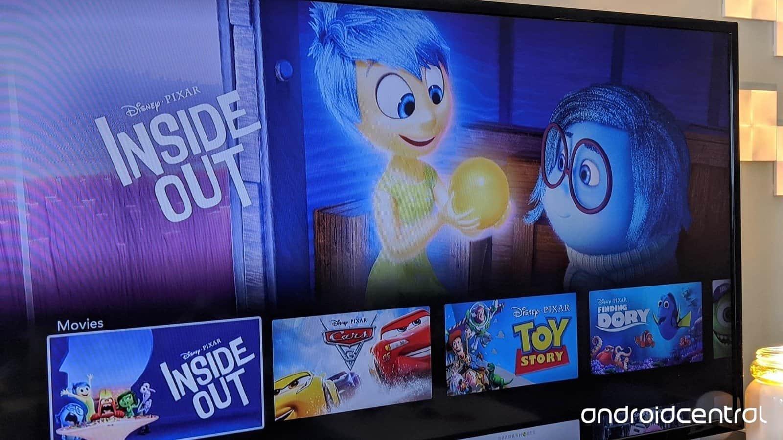 shows Disney plus on Sony Smart TV