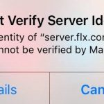 iPhone Cannot Verify Server Identity – How to Fix