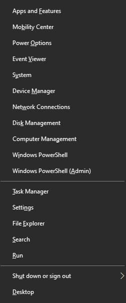 Launching The Windows Task Manager