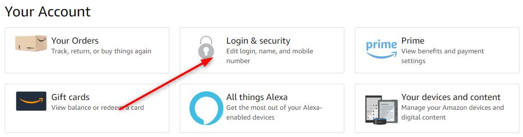 Login & Security