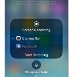 """Screen recording"" with the turn on or off microphone prompt"