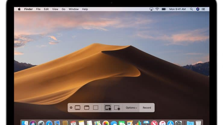 screen record on Mac