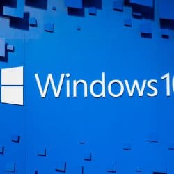 image displays windows 10 logo