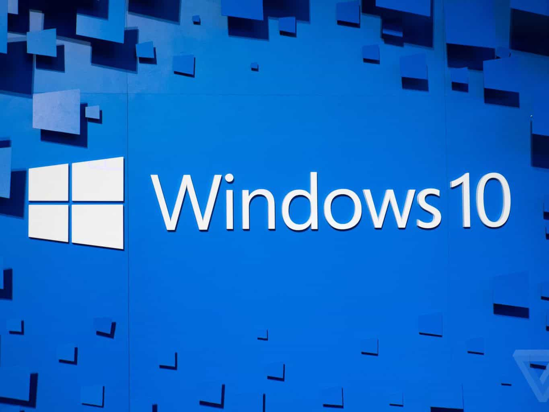 image displays windows 10 logo