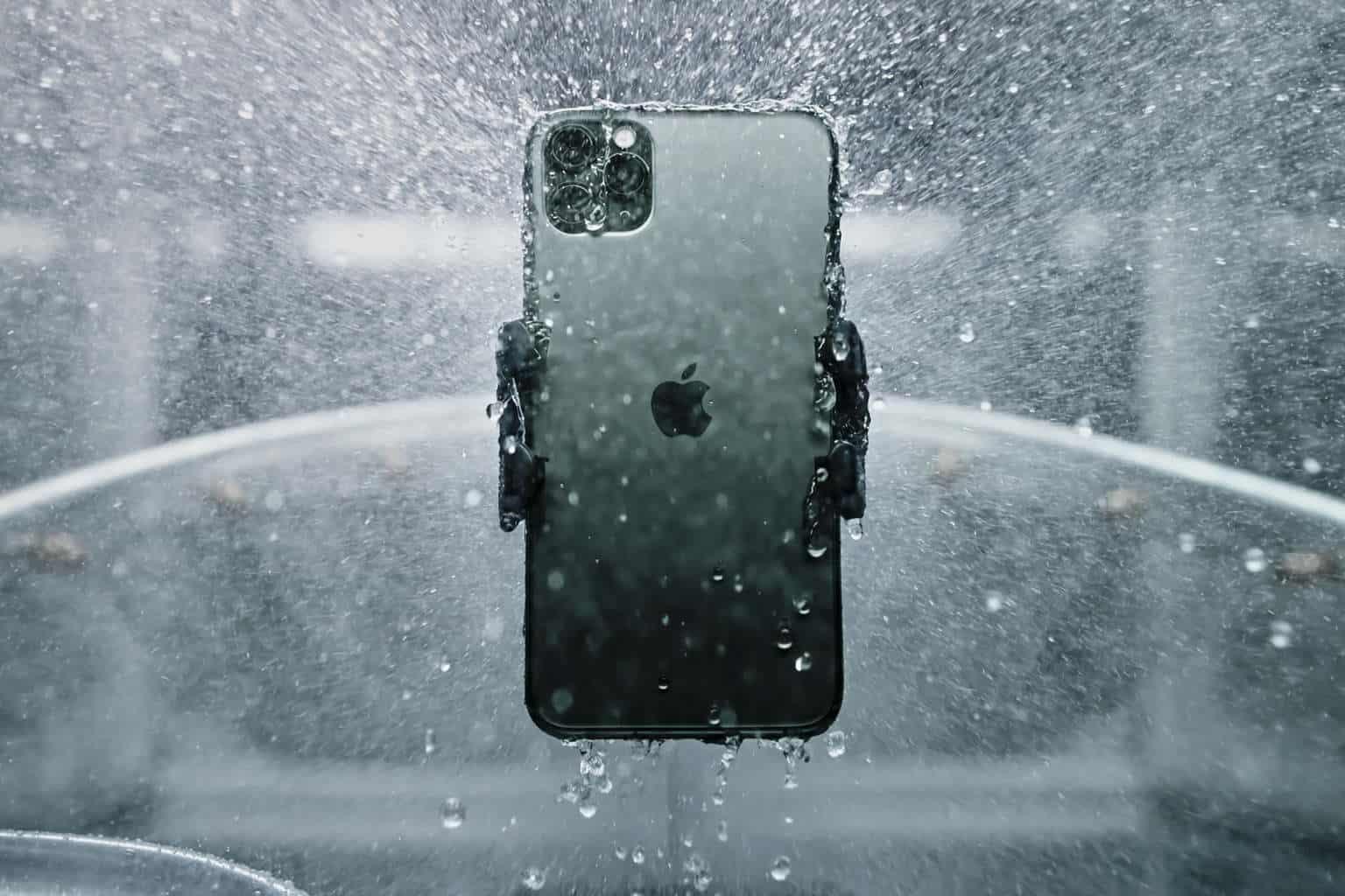 iPhone 11 Pro Max waterproof