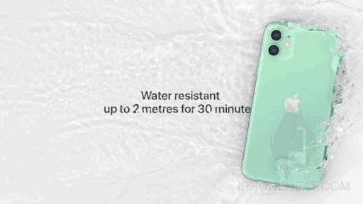 iPhone 11 waterproof