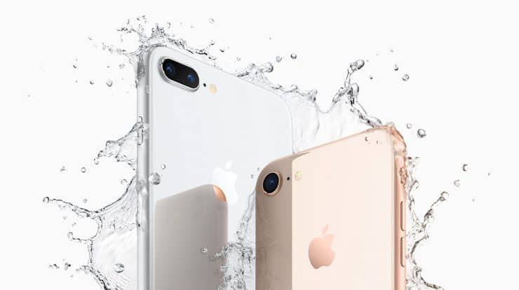 iPhone 8 water resistance