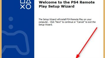 PS4 Remote Installation Wizard