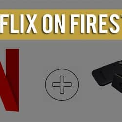 Netflix not working on firestick