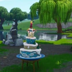 access birthday cake on fortnite