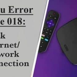 Roku error code 018
