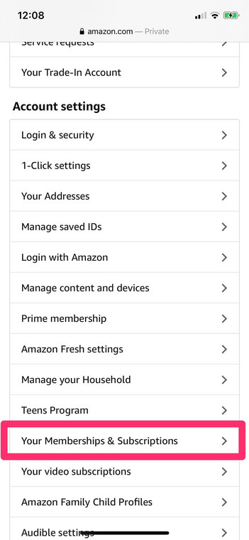 Amazon Music membership and subscription