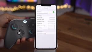 connect xbox controller to iphone