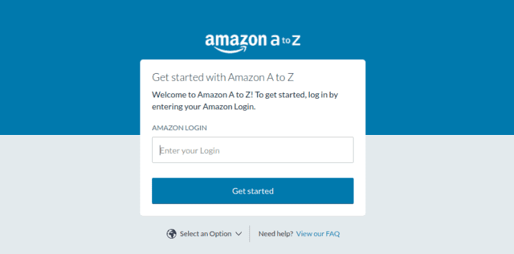 Amazon hub work login