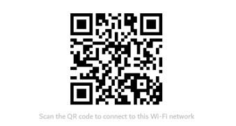 Find WiFi Password using QR Code