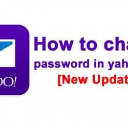How to Change Yahoo Password in Simple Steps
