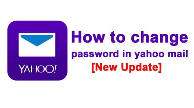 How to Change Yahoo Password
